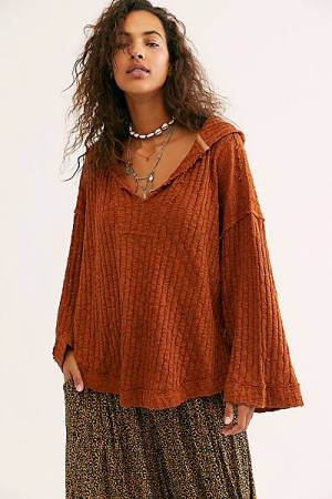 "Free People Top ""Baja Babe Pullover"""