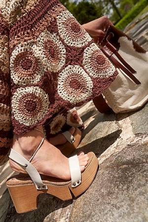 "Free People Sandals ""Aurora Wrap Clogs"""