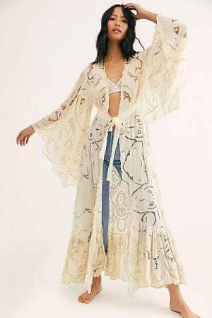 "Free People Kimono ""Loveland Lace"""