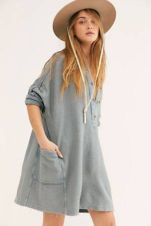 "Free People Top ""Wilder Polo"""