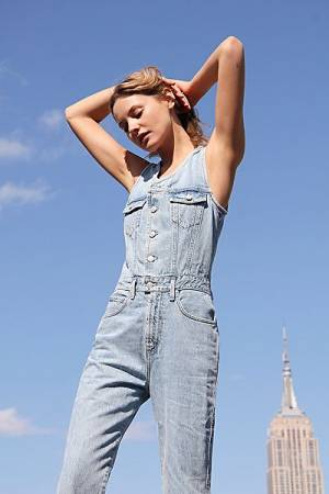 AGOLDE 70's Denim Jumpsuit