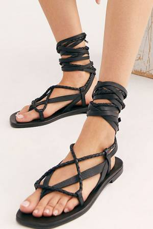 "Free People Wrap Sandals ""Positano"""