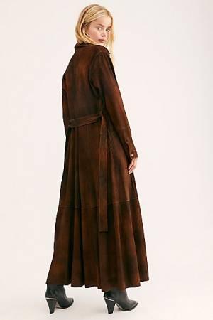 """Brenda Knight Trench Coat """"Long Safari"""""""
