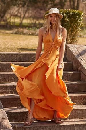 "Free People Maxi Dress ""Parisse"""