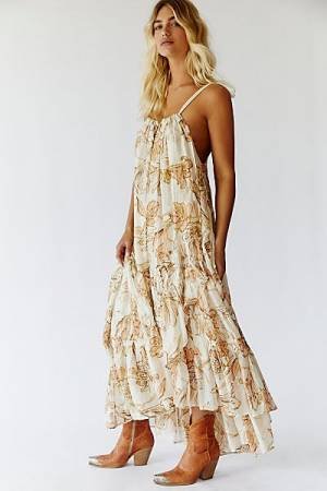 """Free People Maxi Dress """"Sparkly Bare"""""""