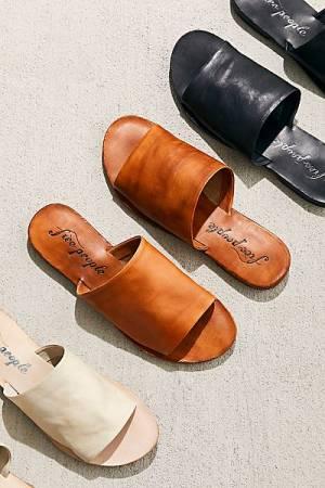 "Free People Slide Sandals ""Vicente"""
