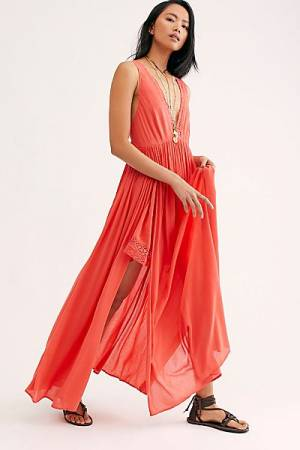 """Free People Maxi Dress """"Strong Statement"""""""
