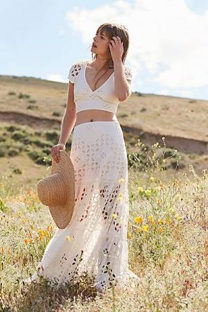 "Free People Maxi Skirt Set ""Dolce Vita"""