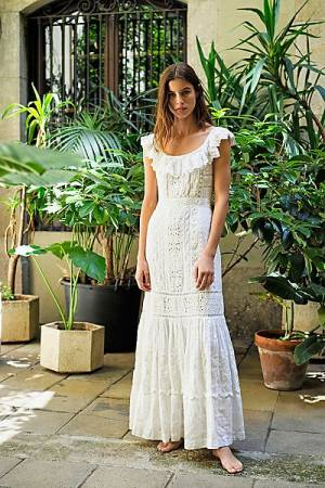 "LoveShackFancy Maxi Dress ""Niko"""