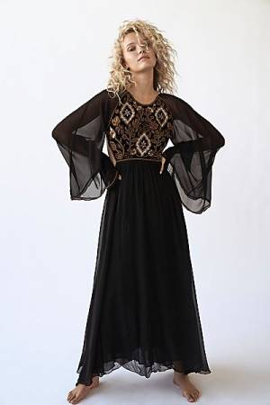 "Antik Batik Maxi Dress ""Kasparov"""