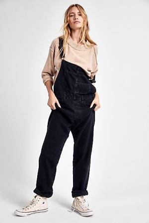 "Free People Denim Overalls ""Ziggy"""