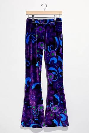 "Flare Street Pants ""Juniper"""
