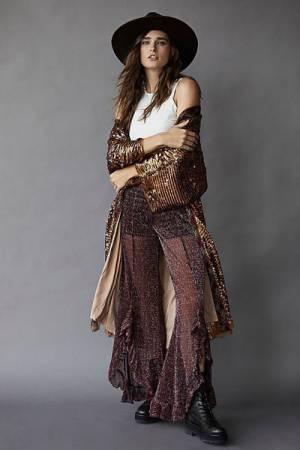 """Anna Sui Metallic Tulle Pants """"Twinkle Crinkle"""""""