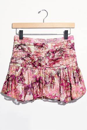 "LoveShackFancy Mini Skirt ""Moe"""