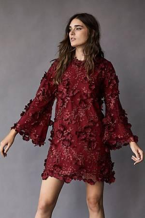 """Mestiza Boho Mini Dress """"Flora"""""""