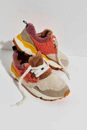 """Flower Mountain Shearling Sneakers """"Archie"""""""
