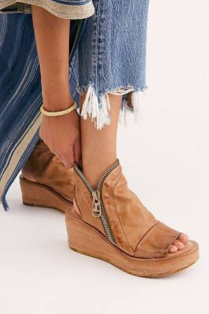 "A.S.98 Wedge Sandals ""Hazel"""