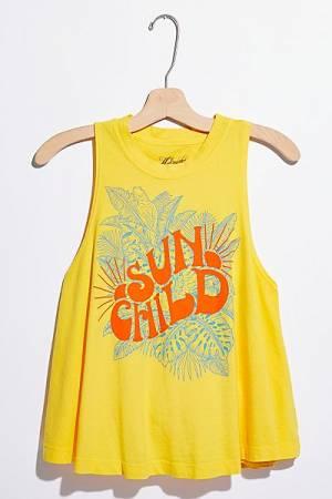 """Midnight Rider Top """"Sun Child Tank"""""""