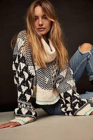 "Free People Sweater ""Jupiter Pullover"""