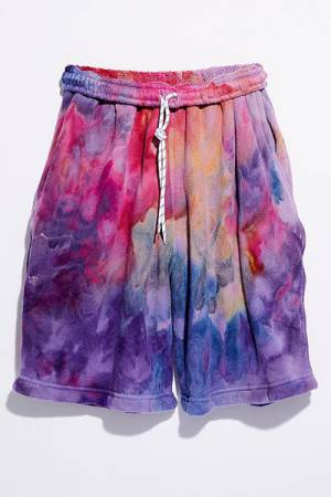 "Riverside Shorts ""Rainbow Tie Dye"""