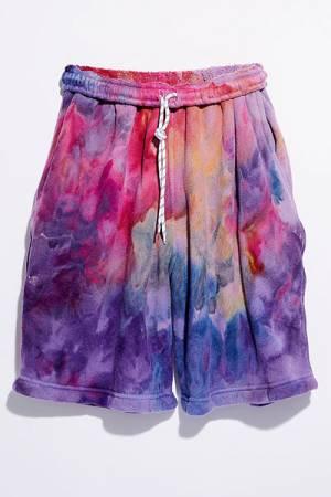 """Riverside Shorts """"Rainbow Tie Dye"""""""