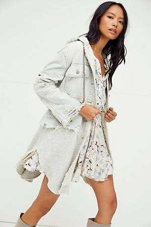 "Free People Denim Jacket ""Okinawa Duster"""