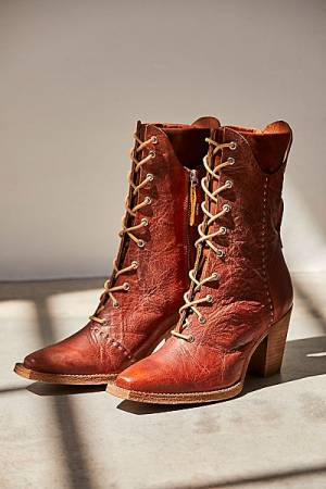 """Free People Boots """"Canyon Lace Up"""""""