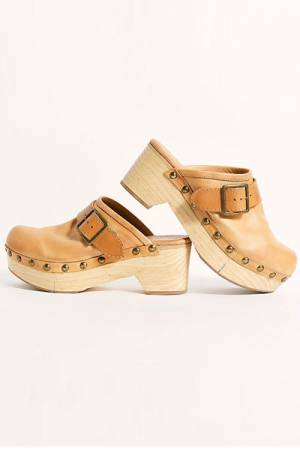 "Free People Clogs ""Culver City"""