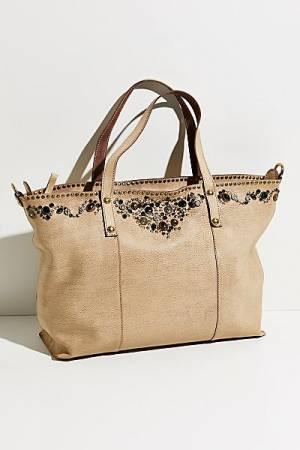 """Campomaggi Embellished Tote Bag """"Medici"""""""