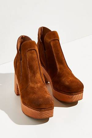 "Free People Loafer Clogs ""Ashton Booties"""