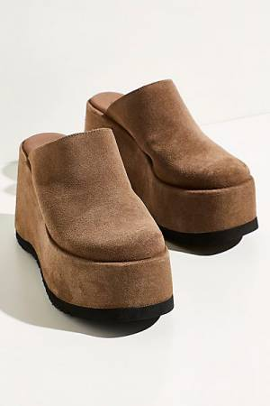 "Free People Platform Mules ""Avery"""