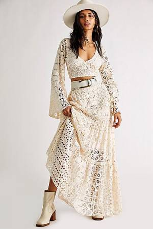 "Free People Two Piece Outfit Set ""Bohemian Yesenia"""