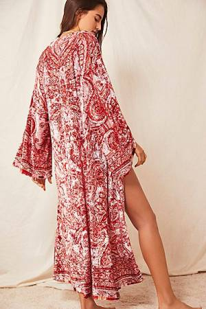 "Free People Bohemian Kimono Robe ""Enchanted"""