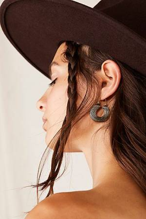 "Free People Hoop Earrings ""Fever"""