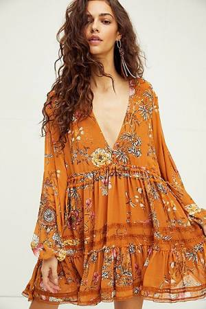 "Free People Mini Dress ""Cherry Blossom"""