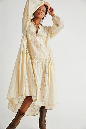 "Free People Midi Dress ""The Adventuring"""
