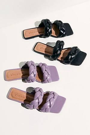 """Vicenza Slip-On Sandals """"Poppy"""""""