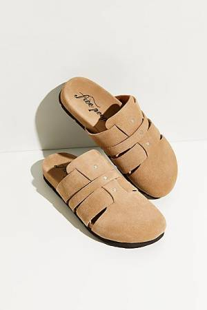 "Free People Slippers ""Sunday Season Mules"""