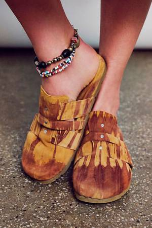 "Free People Slipper Mules ""Sunset"""