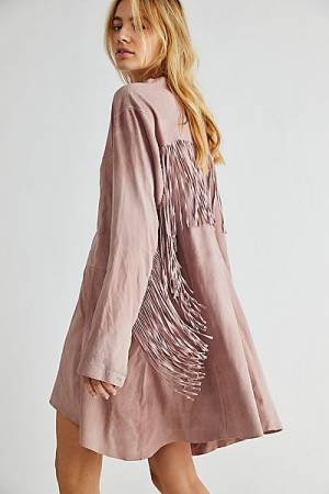 "Free People Mini Dress ""Mark My Words"""