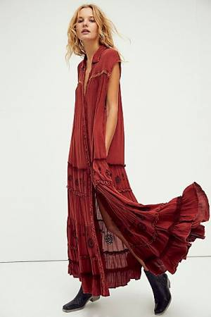 "Free People Maxi Dress ""Pretty Cozy"""
