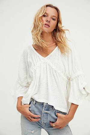 """Free People Top """"Sand Storm Blouse"""""""