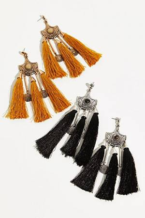 "Free People Tassel Earrings ""Boho Jewelry"""