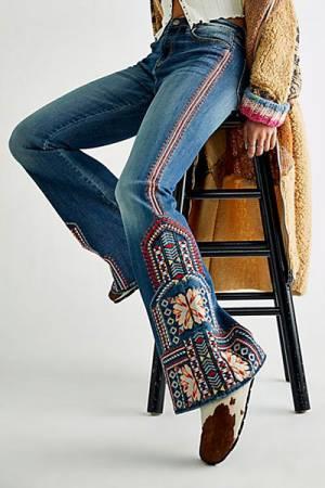 "Bohemian Flare Jeans ""Farrah"""