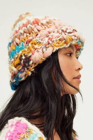 """Chunky Knit Beanie Hat """"Dreamland"""""""