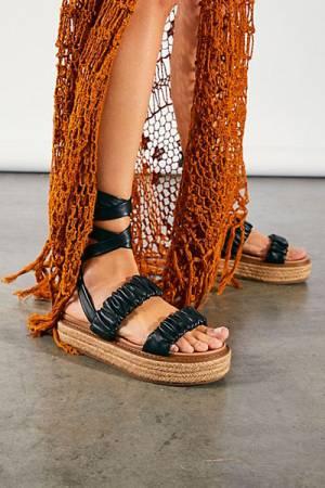 "Sam Edelman Wrap Sandals ""Nadia Flats"""