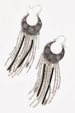 "Free People Boho Earrings ""Night Moves"""