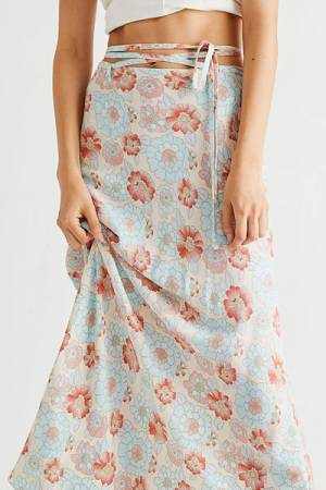"""Free People Maxi Skirt """"Thats A Wrap"""""""