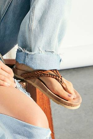 """Free People Sandals """"Ivy Handwoven Footbed"""""""