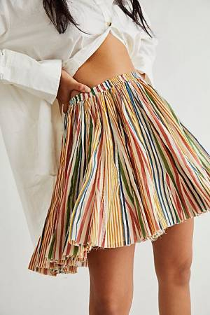 "Free People Mini Skirt ""Fawn"""